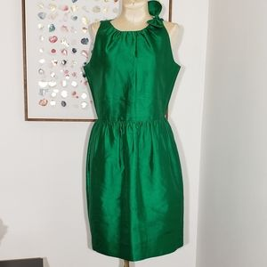 Raoul emerald green cocktail dress size 4